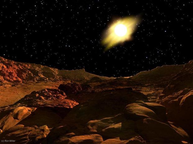 Фото №2 - Как выглядит Солнце с каждой из планет Солнечной системы (галерея)