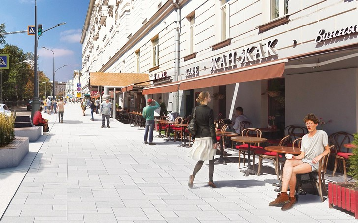 Фото №4 - Ремонт московских улиц прорекламировали Аарон Пол, Винни Джонс и другие звезды