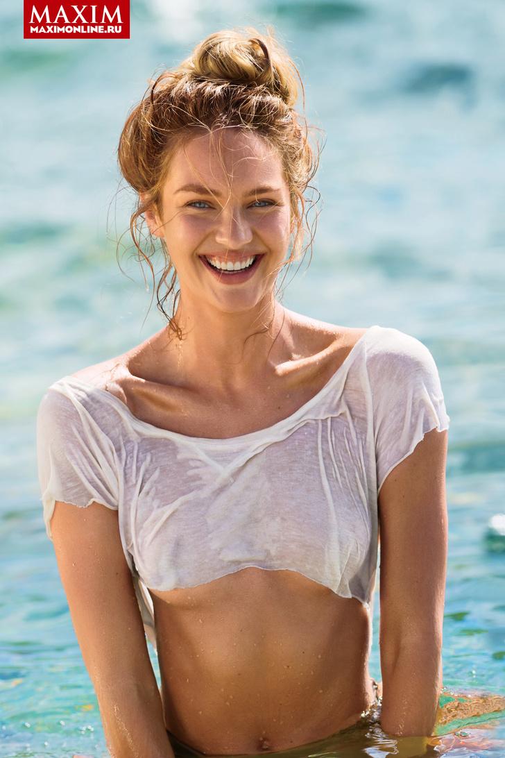Ангел  Victoria's Secret Кэндис Свейнпол