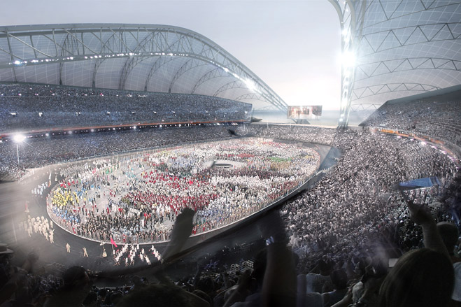 Олимпийский стадион в Сочи