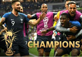 Роботы все-таки убили Хорватию! Французы стали чемпионами мира