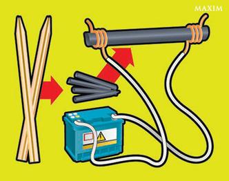 Фото №2 - Автосмекалочка: как сделать фонарь из карандаша