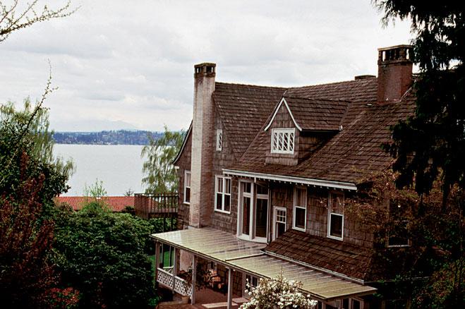 Дом в Сиэтле, где Кобейн покончил с собой