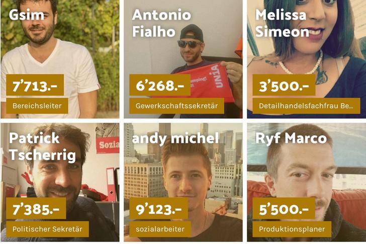 Фото №1 - В Швейцарии набирает популярность проект, в котором люди сообщают размеры своих зарплат