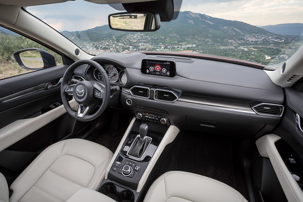 Фото №5 - Кое-что о новом поколении Mazda CX-5