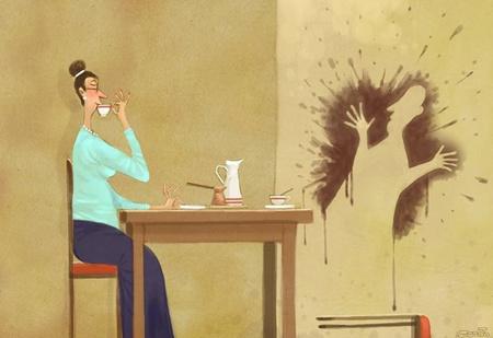 Уютные и едкие карикатуры Андрея Попова