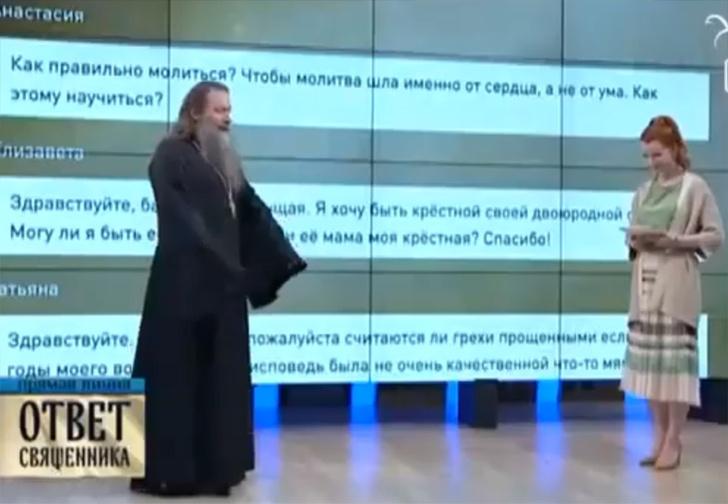 Фото №1 - Российский священник пришел на ТВ и рассказал, что общался с раскаявшимся духом Чарльза Дарвина