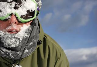 Лыжи из-под палки