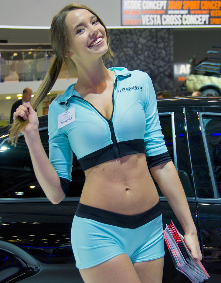 Фото №9 - Лучшие девушки Московского международного автосалона — 2016! Часть 2!