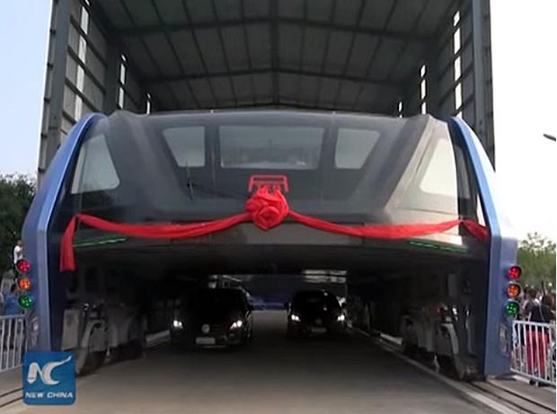 Фото №2 - Чудо-транспорт, который должен был избавить Китай от пробок, оказался уловкой мошенников