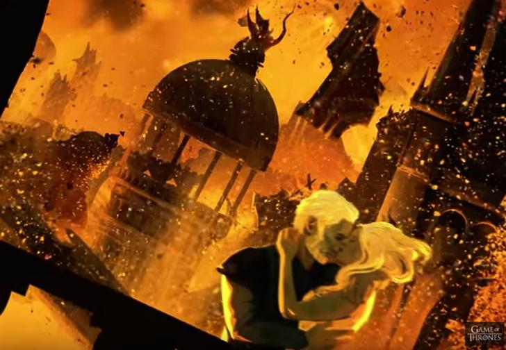 Фото №1 - Драконы, битвы и завоевания в анимационном приквеле «Игры престолов»