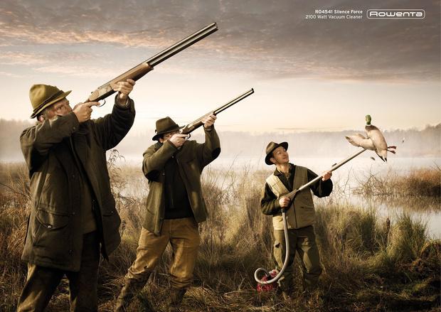 Фото №14 - 15 остроумных рекламных плакатов, которые ты, скорее всего, не видел