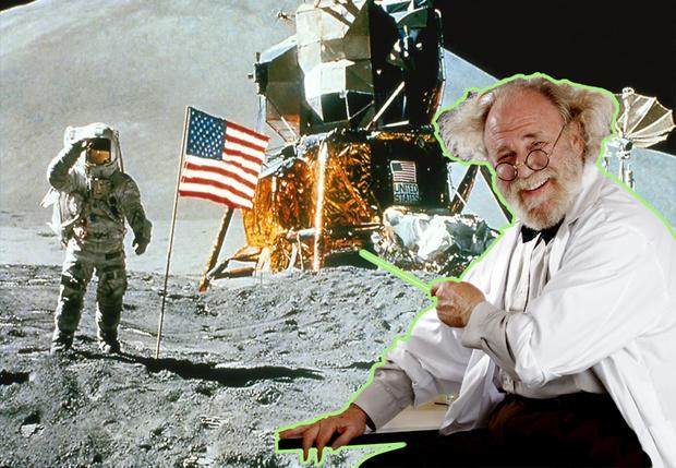 Фото №1 - Ура! Российские ученые доказали (снова): американцы действительно высаживались на Луне!