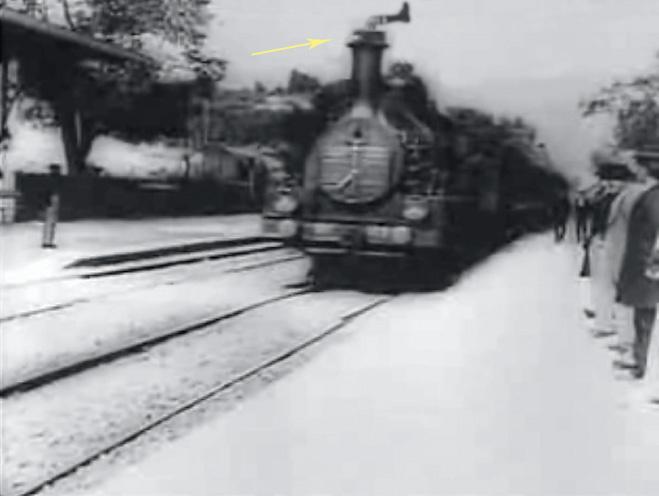 Прибытие поезда для вокзальчик Ла-Сьота