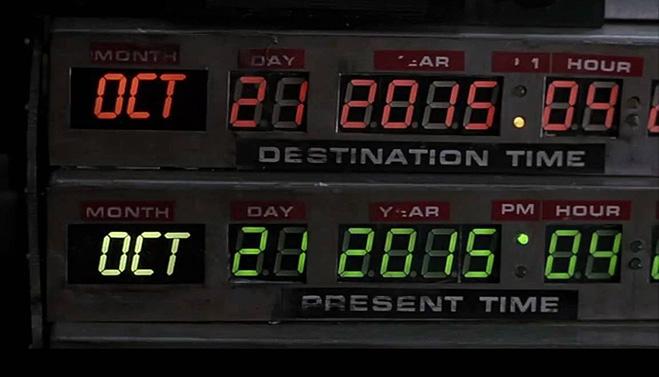 Будущее по версии «Назад в будущее – 2»