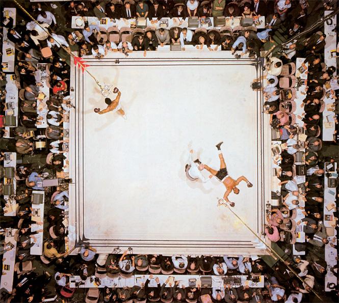 Победа Мохаммеда Али над Кливлендом Уильямсом, 1966 год