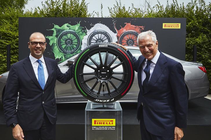 Фото №2 - Итальянский триколор на шинах Pirelli