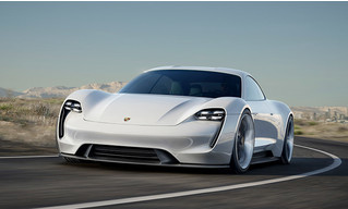 Как будет выглядеть электрокар от Porsche? А вот так!
