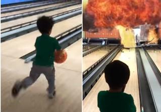 Художник-мультипликатор вставляет спецэффекты из блокбастеров в домашние видео с сыном