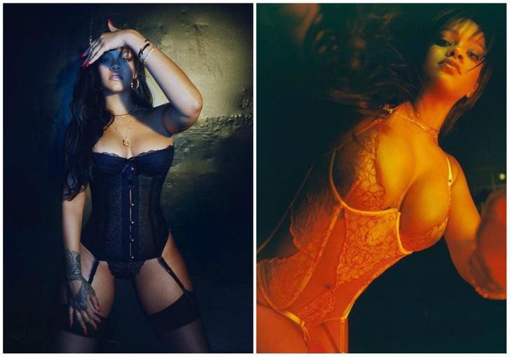 Фото №1 - Какое варварство: Рианна собственноручно (и другими частями тела) рекламирует нижнее белье