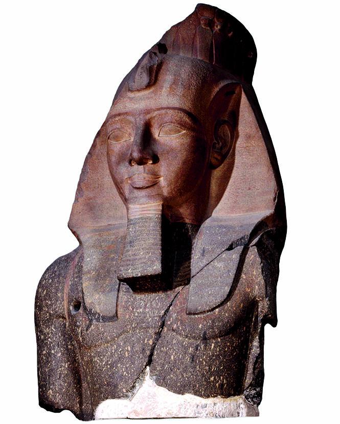 Главный экспонат египетской коллекции Британского музея— гигантская статуя Рамзеса II