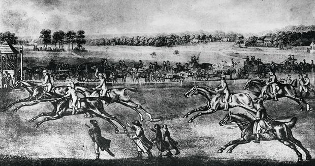 Букмекеры в Аскоте. 1791 год