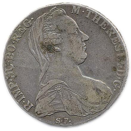 австрийские монеты 18: