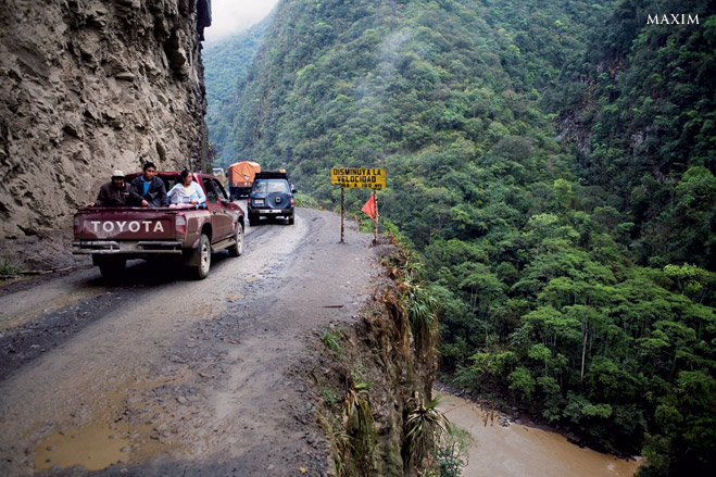 Фото №1 - Из пункта А-А-А-А-А! Семьужаснейших дорог планеты