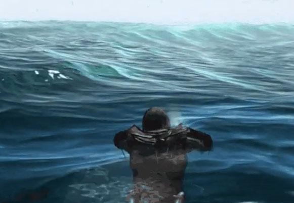 Фото №1 - Геймер доплыл до конца карты в Assassin's Creed IV: «Черный флаг» (залипательное видео)