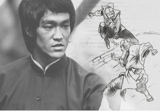 Брюс Ли — художник: талантливый мастер талантлив во всем!