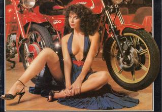 Сексуальные девушки байкеров из 1980-х!