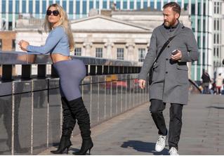 Журналистка два дня носила накладную попу, как у Ким Кардашян