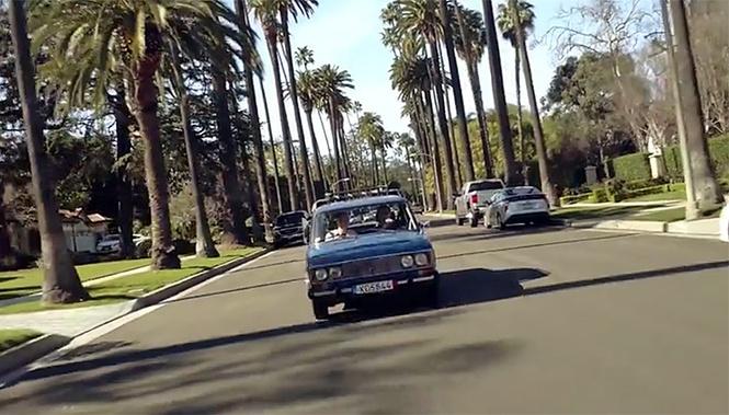 Американцы тестируют «Жигули» в Калифорнии. Карбюраторное видео!