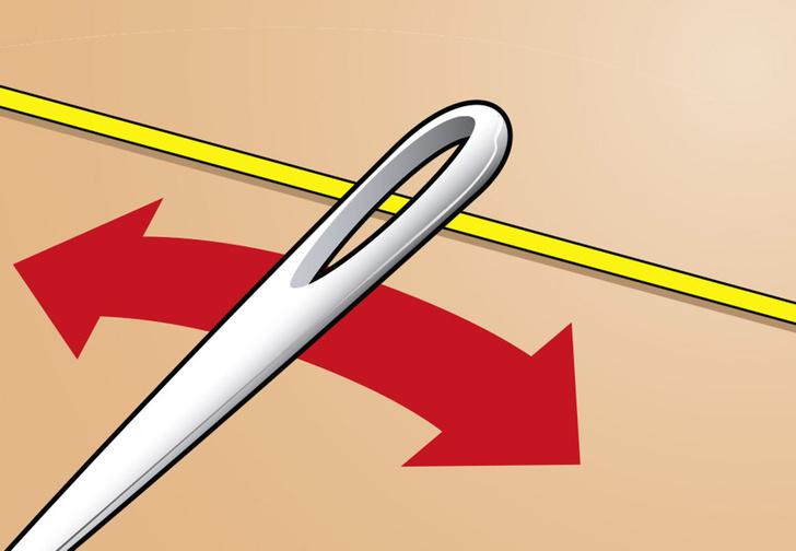 Фото №1 - Простейший способ вдеть нитку в иголку