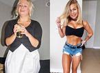Фитнес-модель показала, как изменилось ее тело после отказа от алкоголя