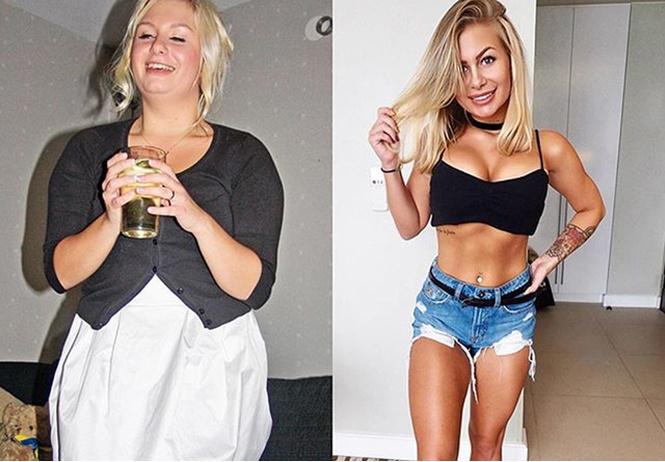 фитнес-модель показала изменилось тело отказа алкоголя