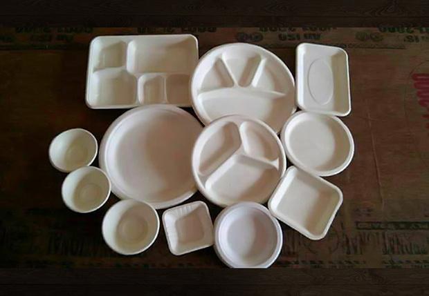 Иллюзия с перевернутыми тарелками