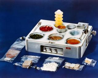 Как едят в космосе (галерея)