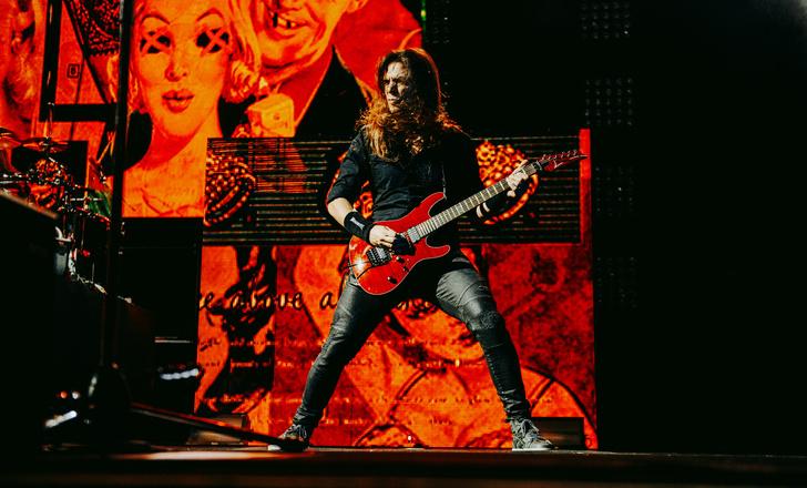 Фото №18 - Megadeth подняли температуру в Москве — посмотри и приобщись!