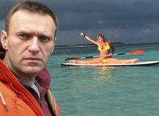 Как Волочкова Навального на «шпагатную дуэль» вызывала. История балетно-политического конфликта