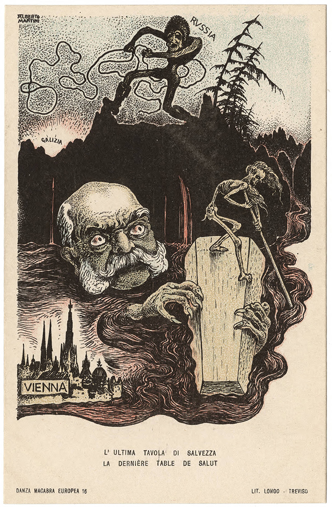 Фото №45 - Жутковатые карикатуры Первой мировой