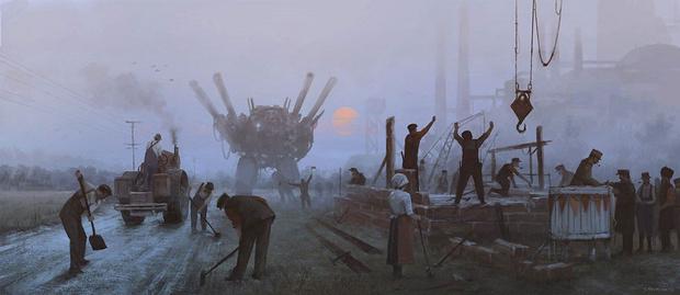 Фото №28 - Зловещая стимпанковская живопись с элементами славянского быта