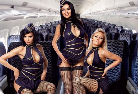 Женщины с верху. Все о главном объекте твоих фантазий — стюардессах!