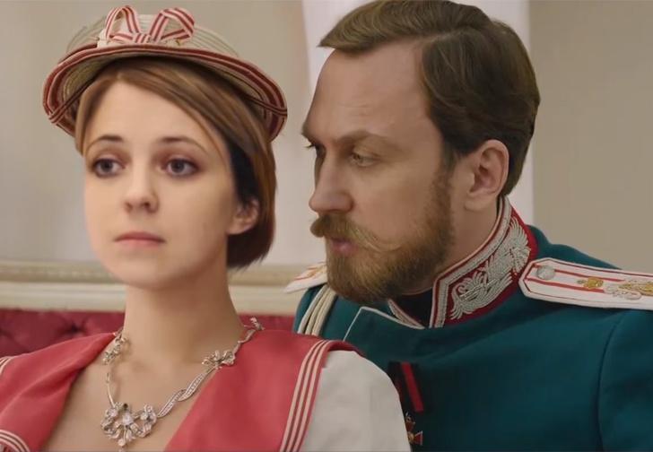 Фото №1 - «Наталья»: трейлер несуществующего фильма о Поклонской и Николае II