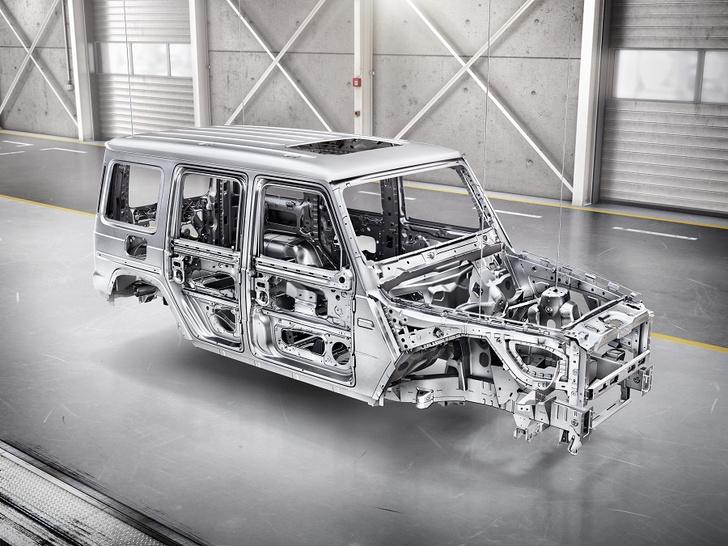 Фото №4 - Внедорожник Mercedes-Benz G-Класса: хорош, как никогда раньше