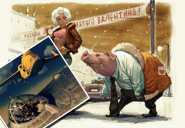 Фото №1 - Художник недели: фантастика, фэнтези и девушки в картинах Вальдемара фон Козака