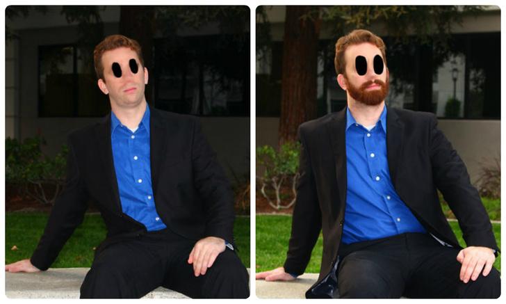 Фото №1 - С бородой или без? Парень провел эксперимент в «Тиндере» и выяснил, что больше нравится девушкам