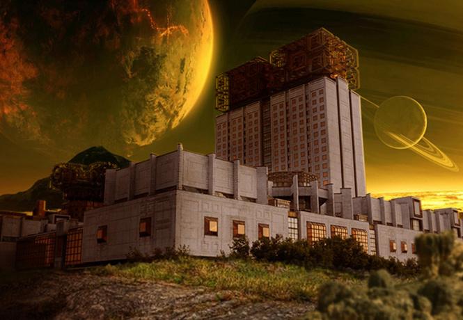 советские постройки других планетах