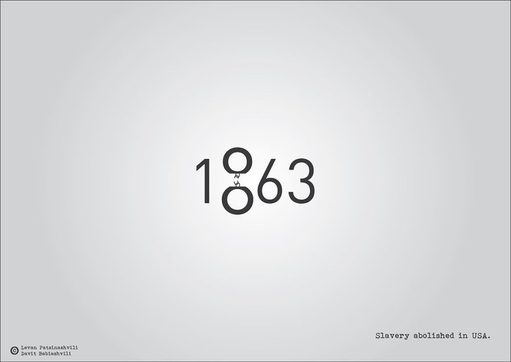 Фото №5 - Исторические даты в минималистичных иллюстрациях