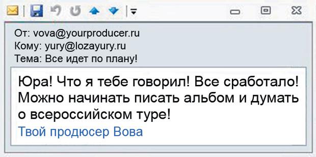 Почта Юрия Лозы